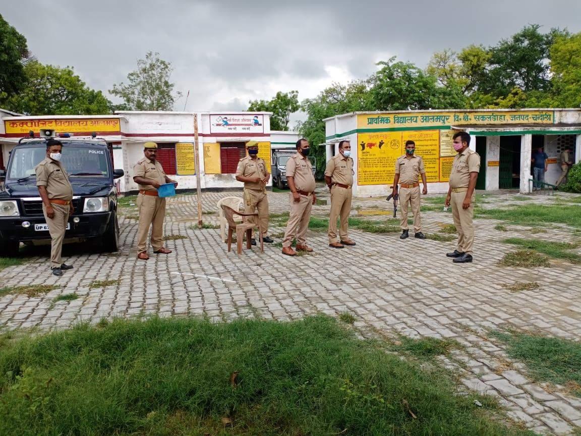 आलमपुर गांव में शांतिपूर्ण ढंग से संपन्न हुआ वार्ड मेम्बर का मतदान