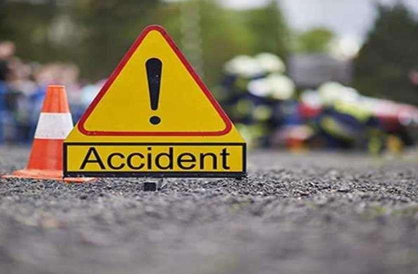 पिकअप व ऑटो में हुई टक्कर, भाई की शादी में जा रही रामदुलारी की गई जान, तीन घायल