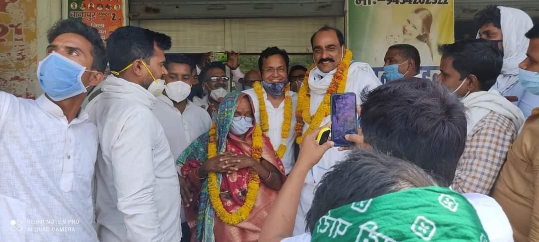 कवई पहाड़पुर गांव से रमा देवी बनेंगी निर्विरोध ग्राम प्रधान, 4 लोगों का नामांकन वापस