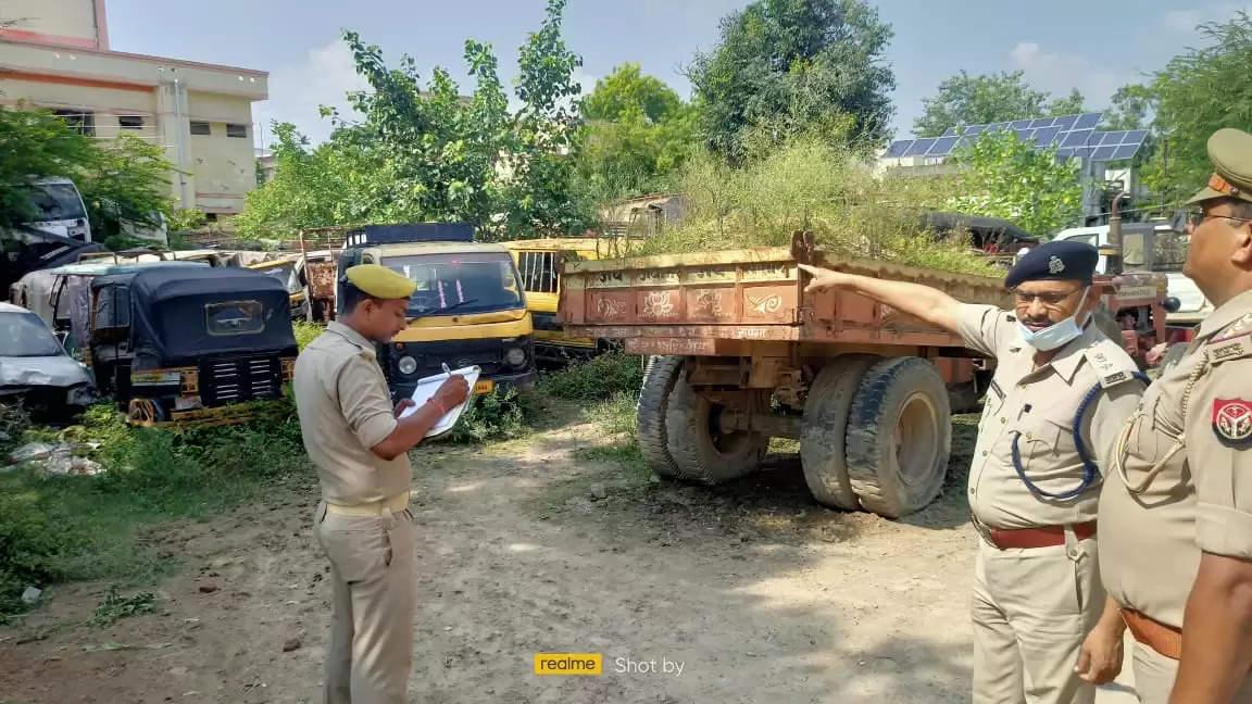 ASP inspected Mughalsarai police station