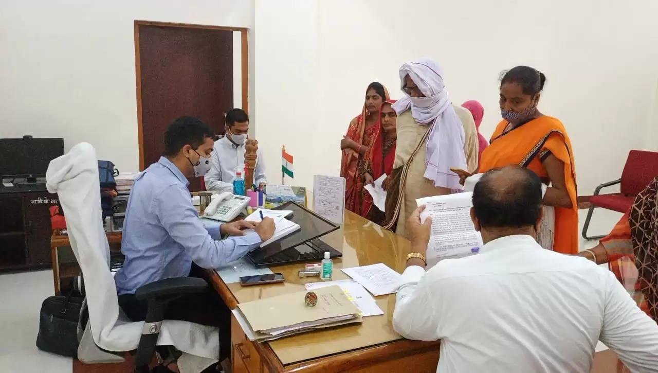 Janta Darbar in Office