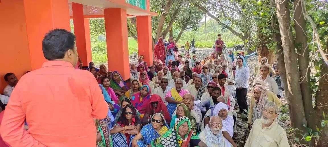 Free Eye Camp in Semara Village