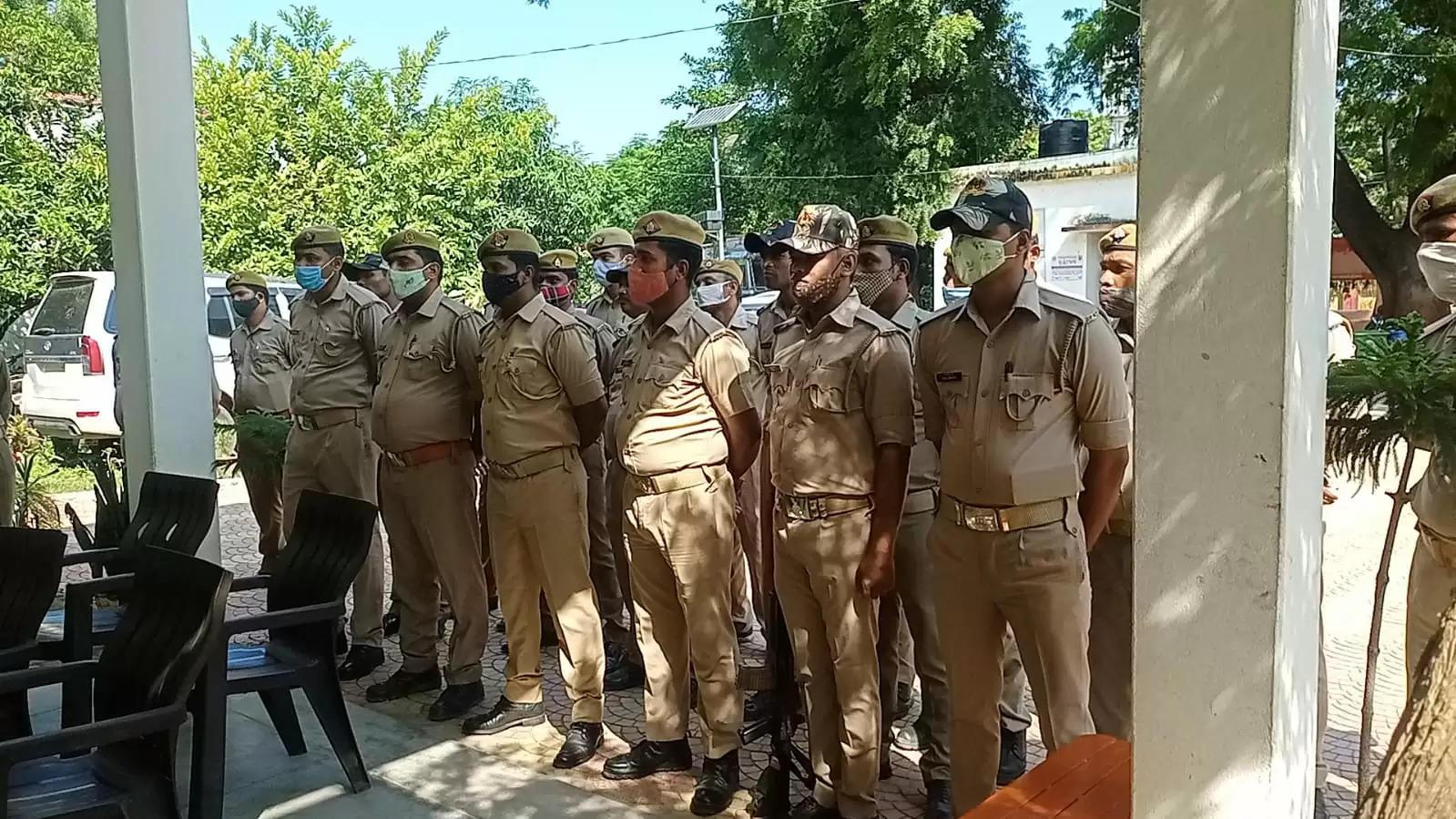 Inspector Uday pratap singh reaction