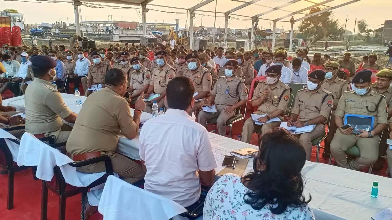 CM Yogi Security Chandauli