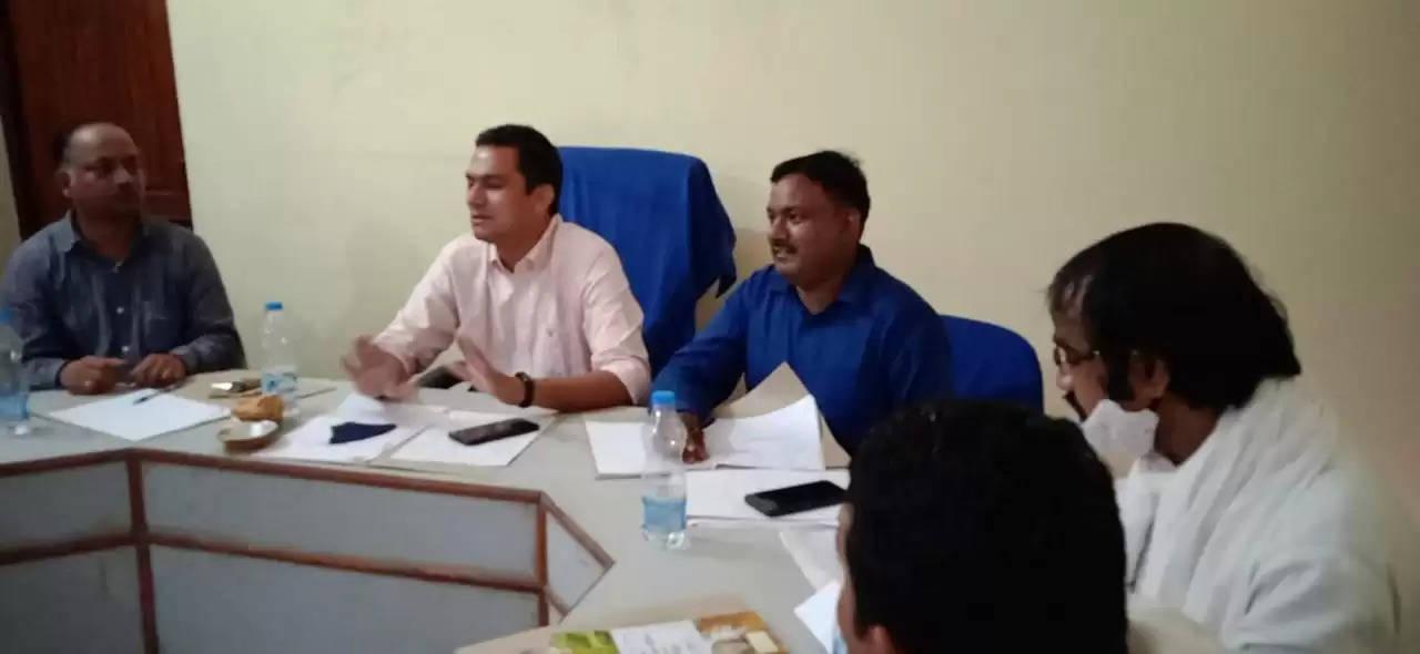 Chakia Nagar Panchayat Board Meeting