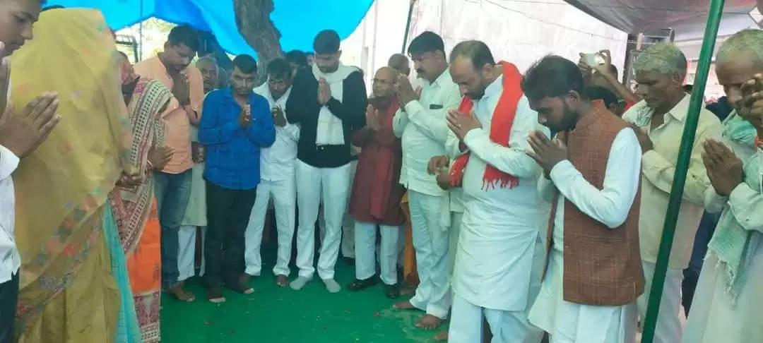 Martyr Kuldeep Maurya first death anniversary