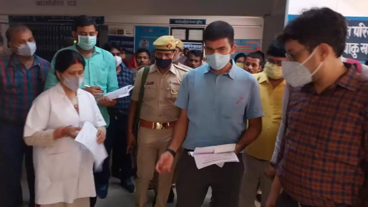 Action after DM Chandauli