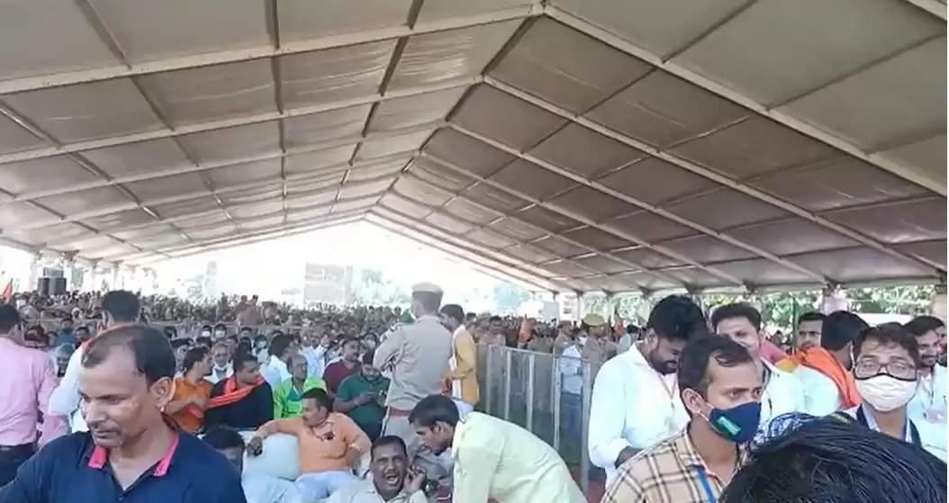 CM Public Meeting Chandauli