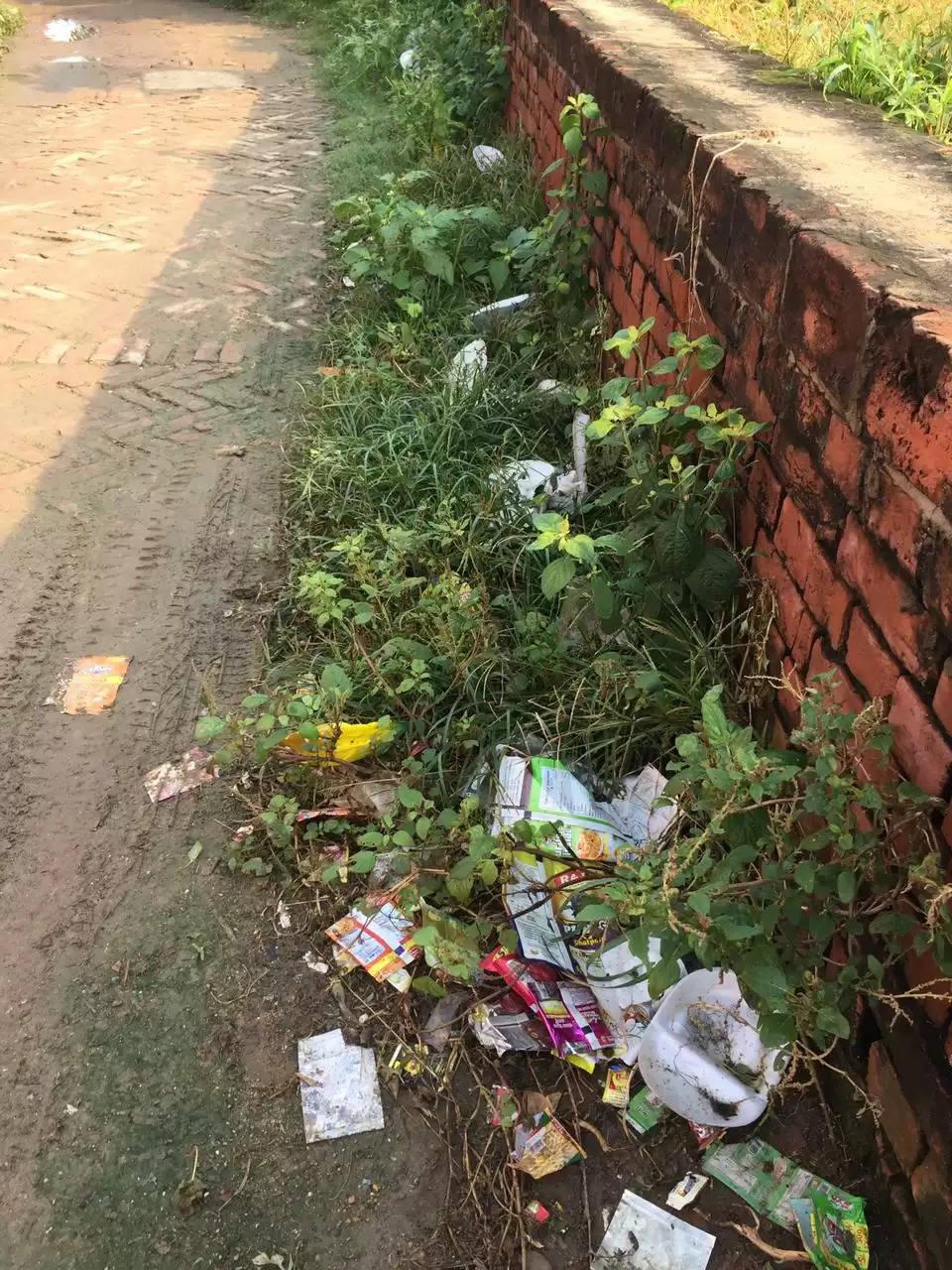Safaikarmi Not Working in Jamuda Village