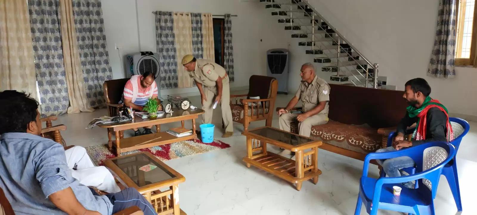 chandauli police action